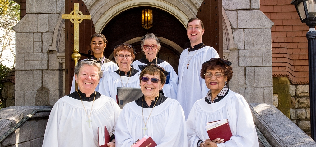 Choir from St. John's Chapel in Monterey, CA