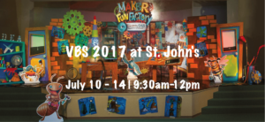 """VBS Maker Fun Factory - """"Created by God; built for a purpose"""
